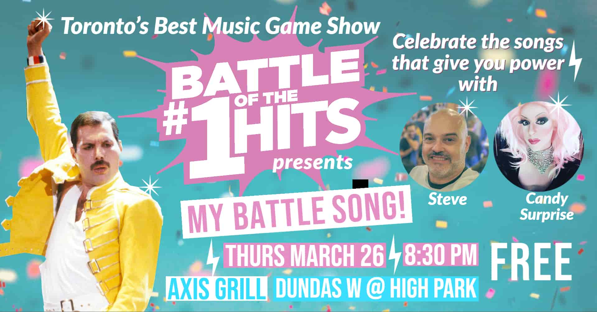 Battle of the #1 Hits live in the Junction March 26 2020