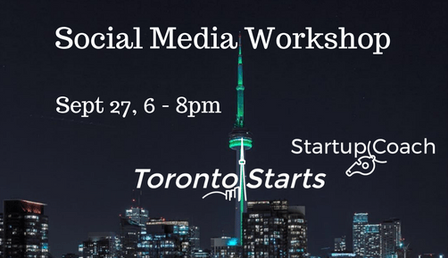 Social Media Workshop with The Startup Coach