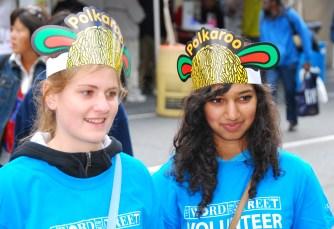KidStreet volunteers