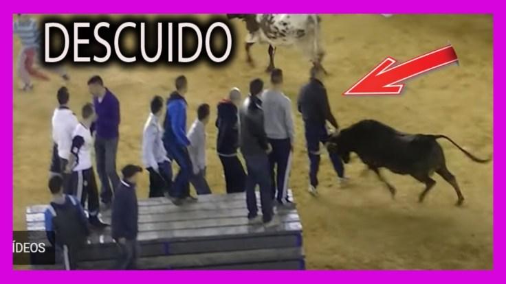Susto toros Valencia