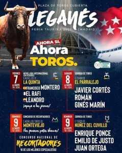 Toros mayo 2021 Leganés
