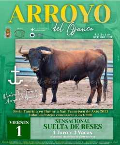 TOROS ARROYO DEL OJANCO 1 OCTUBRE 2021