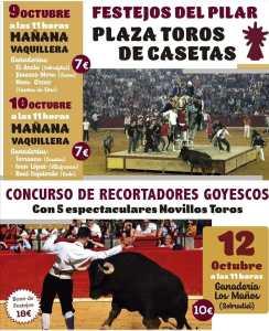 TOROS CASETAS 9, 10 Y 12 OCTUBRE 2021