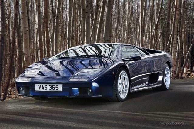 A Lamborghini Diablo VT