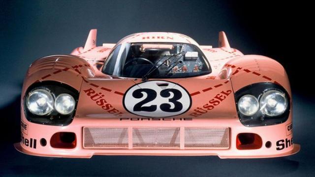A Porsche 956 Pink Pig