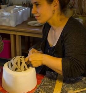kurs keramikk raku torpedo design kule leire