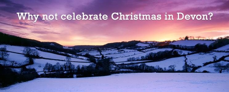 celebrating christmas in Devon