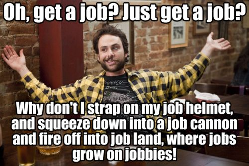Get a job quote - Always sunny in Philadelphia - keep your readers