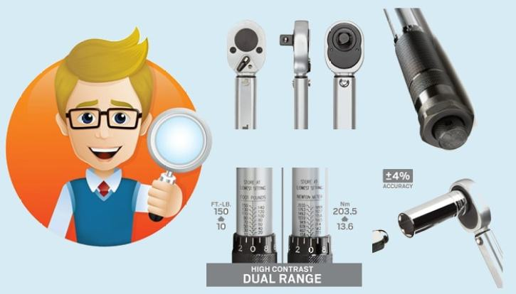 Primary Parts of the Best Torque Wrench