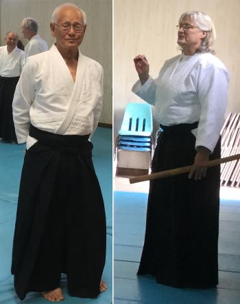 Clarence Chinn Sensei and Susan Grigsby Sensei