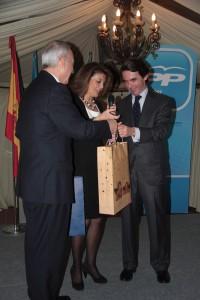 Cena de Navidad del PP de Torrelodones con  José Mª Aznar