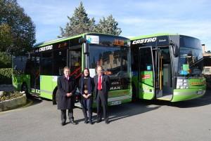 Autobuses ecológicos de Torrelodones
