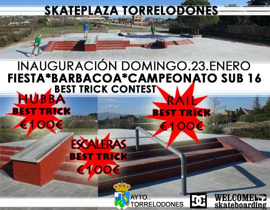 Inauguración Skateplaza Torrelodones