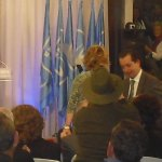 Esperanza Aguirre presenta a Javier Laorden en Torrelodones