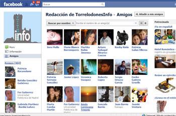Amigos de Redacción de TorrelodonesInfo en Facebook