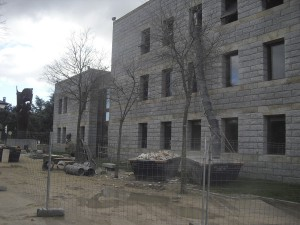 Casa de Cultura de Torrelodones en obras