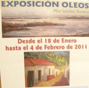 Exposición oleos de Pilar Sánchez Romero, en Torrelodones