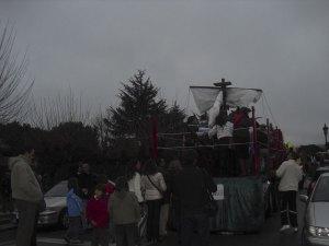 Un auténtico barco pirata en la Cabalgata!