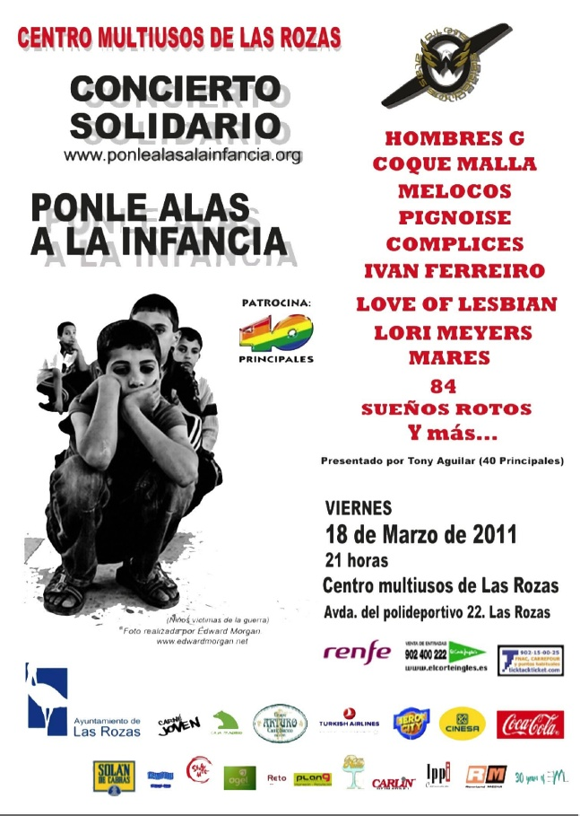 Concierto de Alas Solidarias en Las Rozas
