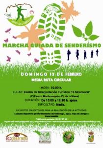 Marcha guiada de Senderismo en Hoyo de Manzanares