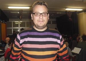 Jorge Mora, Director de la Banda Sinfónica Municipal de Música de Torrelodones