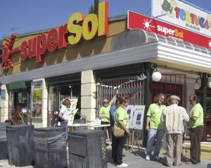 Actúa en campaña frente a Supersol