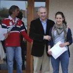 Belén Diez, una de las alumnas del San Ignacio, ganadora del Encuentro Literario Escolar
