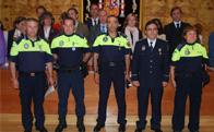 Condecoran a cinco miembros de la Policía Local de Torrelodones