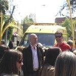 El médico del SUMMA 112 que estuvo presente para socorrer a Lorenzo, al lado de Carlos Chinchilla