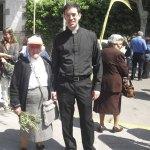 La poetisa Trini y el Padre Ignacio