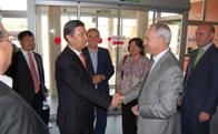 Visita delegacion china a Torrelodones