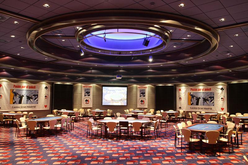 Sala de Poker del Casino Gran Madrid