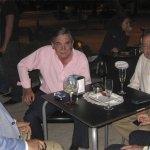El Alcalde de Torrelodones, que venía de la graduación de los bachilleres del Instituto Diego Velázquez