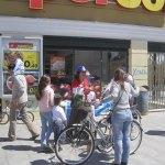Gádor Ongil con el PP en Campaña frente a Supersol