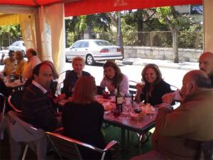 La gente de Torrearte también disfrutó de la Feria de Abril