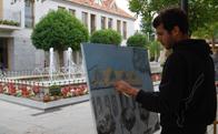 Certamen de Pintura en Directo Rafael Botí en Torrelodones
