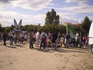 Atracciones para niños en la Fiesta de Vecinos por Torrelodones
