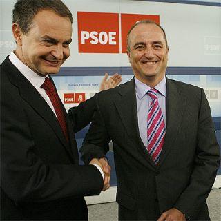 El Ministro de Industria con el Presidente