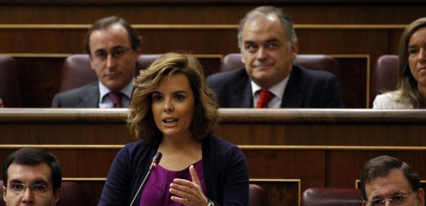 Soraya Saenz de Santamaria, Portavoz del PP en el Congreso de los Diputados