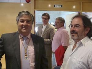 Arturo Martínez Amorós y Miguél Mur, del PP y de AcTÚa respectivamente.