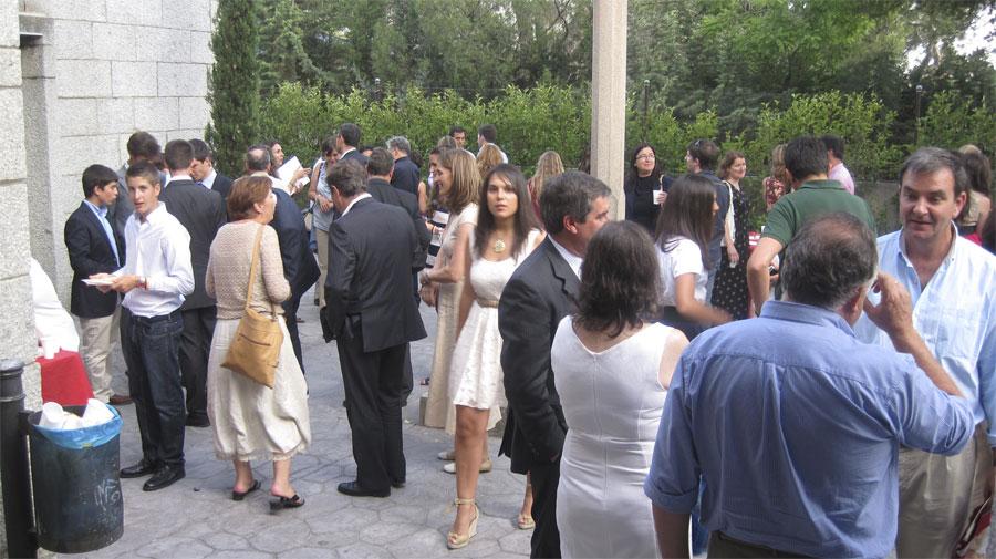 Graduación de los Alumnos de 4º de la ESO del San Ignacio de Loyola de Torrelodones