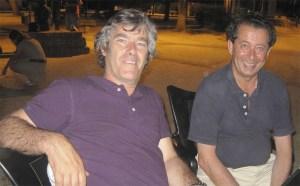 Javier Laorden, con Jose Chinchilla, compañeros en CDS en 1987