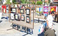 Mercado de arte, pintura y restauración de Torrelodones