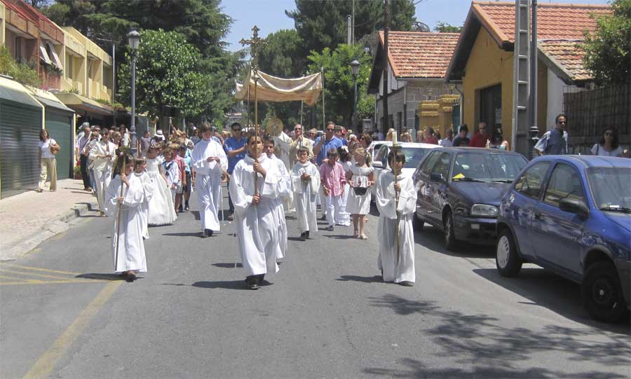 Procesión de Corpus Christi 2011