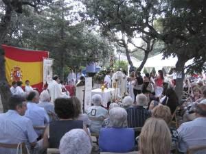 Misa Solemne Virgen del Carmen, Torrelodones