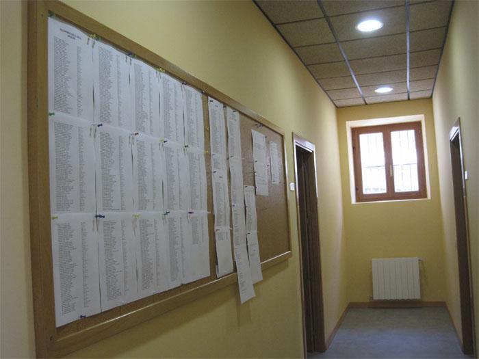 Listados de Alumnos y horarios en la Escuela Municipal de Idiomas de Torrelodones