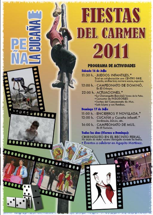 Actividades de la Peña La Cucaña para las Fiestas del Carmen, de Torrelodones