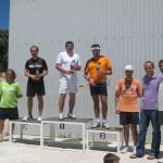 Podium Campeonato de Squash fiestas de la Colonia de Torrelodones