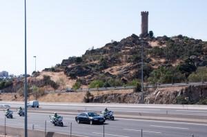 El Papa a su paso por Torrelodones- Foto gentileza de juanangelTC