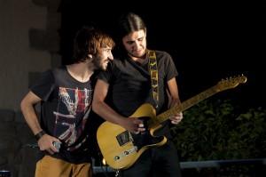 Yago Moncar y Nacho Mur en Torrelodones 14-08-11 (Foto: Juan Ángel Tirado Castillo)